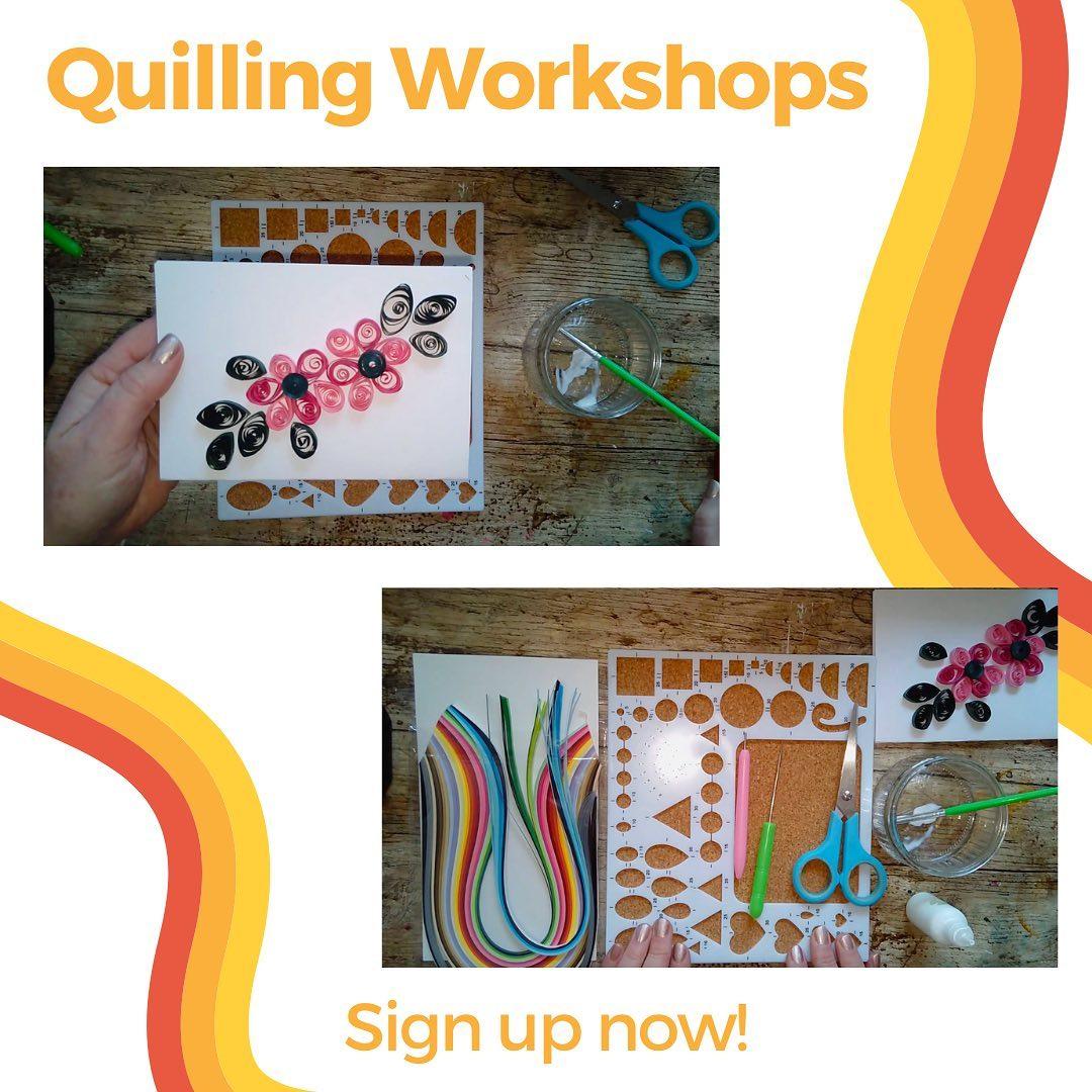 quilling workshop image